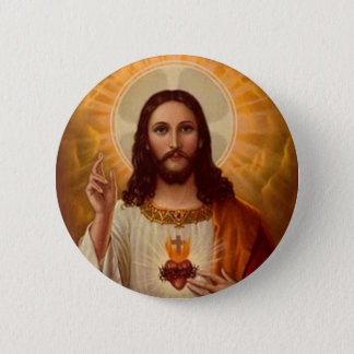 Sacred Heart of Jesus 6 Cm Round Badge