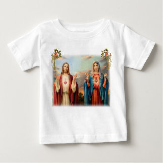 Sacred Heart of Jesus and Immaculate Heart of Mary T-shirts