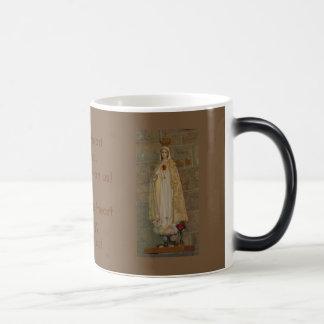 Sacred Heart of Jesus, Immaculate Heart of Mary Magic Mug