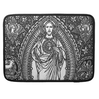 Sacred Heart of Jesus: Macbook Pro Laptop Sleeve