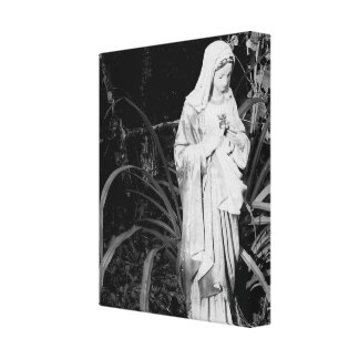 Sacred Heart of Mary Original Photography Canvas Print