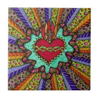 Sacred Heart Tile