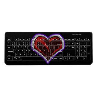 """Sacred"" Heart Wireless Keyboard"