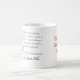 Sacred Idleness Basic White Mug