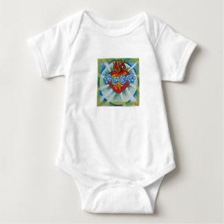 Sacred Immaculate Heart of Mary Baby Wear T Shirts