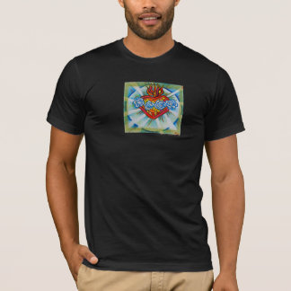 Sacred Immaculate Heart Of Mary T-Shirt