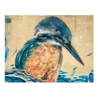 Sacred Kingfisher Wall Art Postcard
