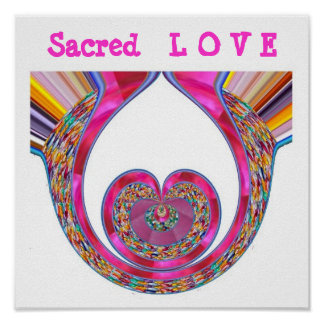 SACRED LOVE n Jaded Decoration for all Occasion Poster