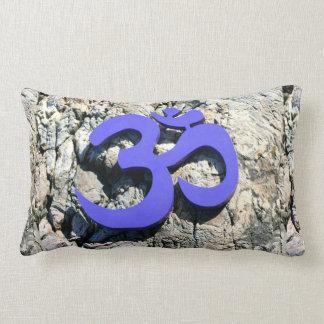 Sacred Om Symbol Lumbar Cushion