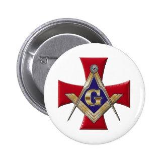 Sacred Order of the Brotherhood 6 Cm Round Badge