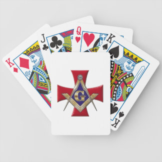 Sacred Order of the Brotherhood Bicycle Playing Cards