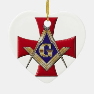 Sacred Order of the Brotherhood Ceramic Ornament