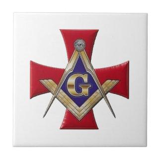Sacred Order of the Brotherhood Ceramic Tile