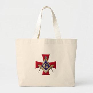 Sacred Order of the Brotherhood Large Tote Bag