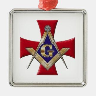 Sacred Order of the Brotherhood Metal Ornament