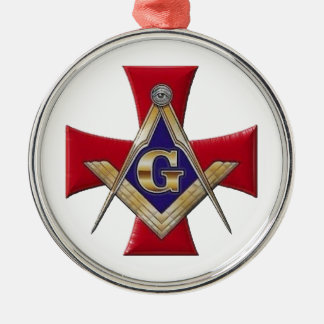 Sacred Order of the Brotherhood Silver-Colored Round Decoration