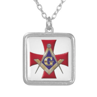 Sacred Order of the Brotherhood Silver Plated Necklace