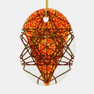 sacred pizzametry ceramic ornament
