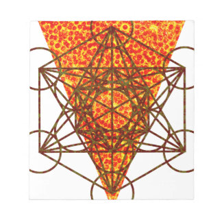 sacred pizzametry notepad