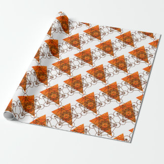 sacred pizzametry wrapping paper