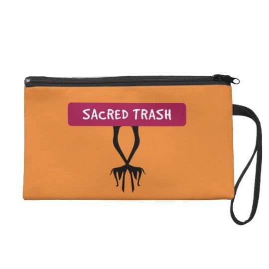 Sacred Trash - Ibis Legs - Totemistic Design Wristlet
