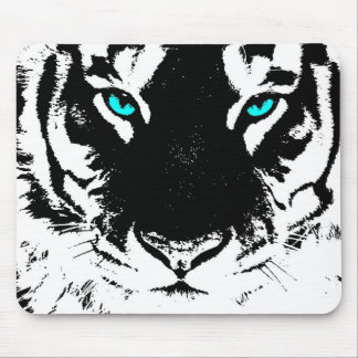 Sacred White Tiger Mouse Pad