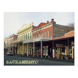 Sacrmento Travel Postcard