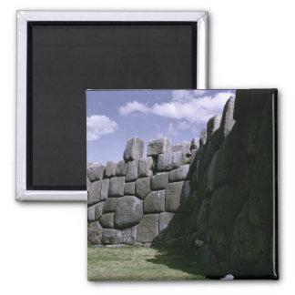 Sacsahuman Incan Fortress Magnet
