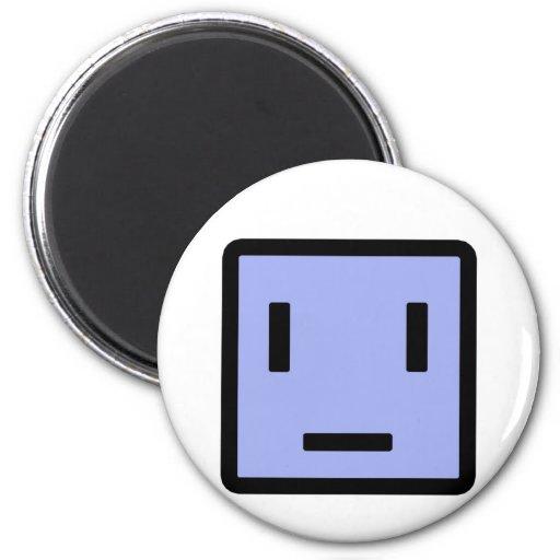Sad Block Fridge Magnets