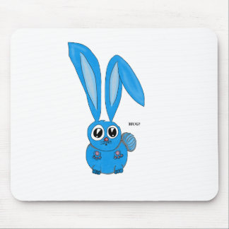 Sad Bunny Wants some Bunny to Love Mousepads