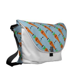 Sad Carrot Messenger Bag