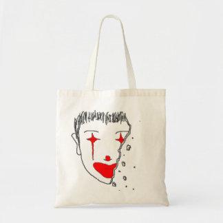 Sad Clown Budget Tote Bag