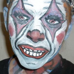 f3aa9c205 Sad Clowns Scary Clown Face Painting Coaster