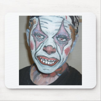 Sad Clowns Scary Clown Face Painting Mouse Pad