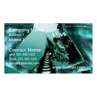 Sad Dragon Business Card