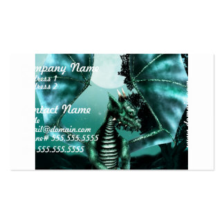 Sad Dragon Double-Sided Standard Business Cards (Pack Of 100)
