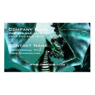 Sad Dragon Business Card Template