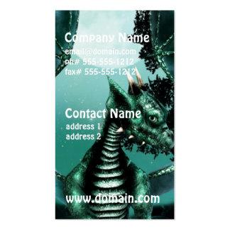 Sad Dragon Business Card Templates
