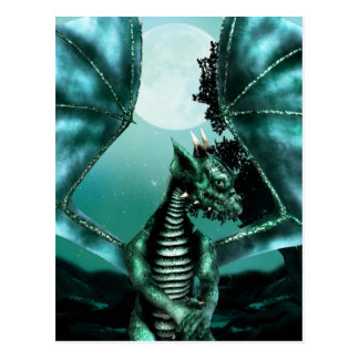 Sad Dragon Postcard