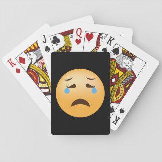 Sad Emoji Playing Cards