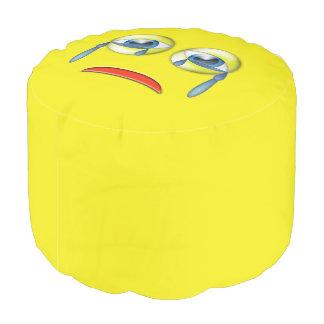 Sad Emoji Pouf