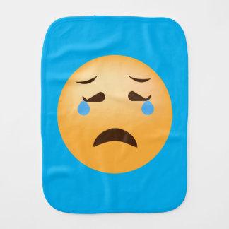 Sad Emojis Burp Cloth
