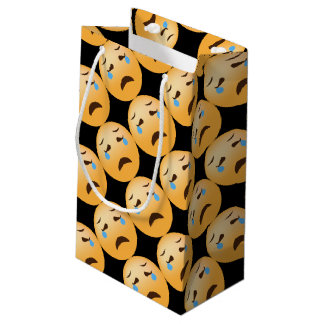 Sad Emojis Small Gift Bag