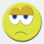 Sad Face Sticker
