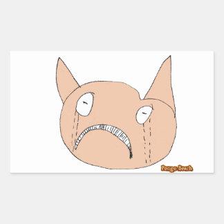 Sad Face Stickers