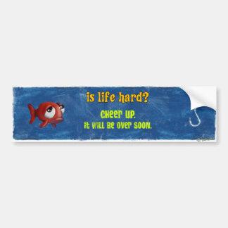 Sad Fish - Is Life Hard? Bumper Sticker