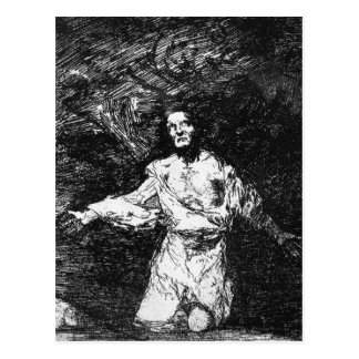 Sad forebodings of what is to come Francisco Goya Postcard