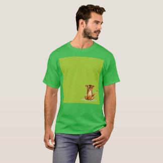 Sad Gato Green Lemonade Watercolor Rare T-Shirt