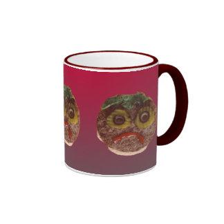 Sad Hamburger Ringer Mug