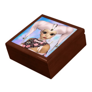 Sad Harlequin Doll Gift Box